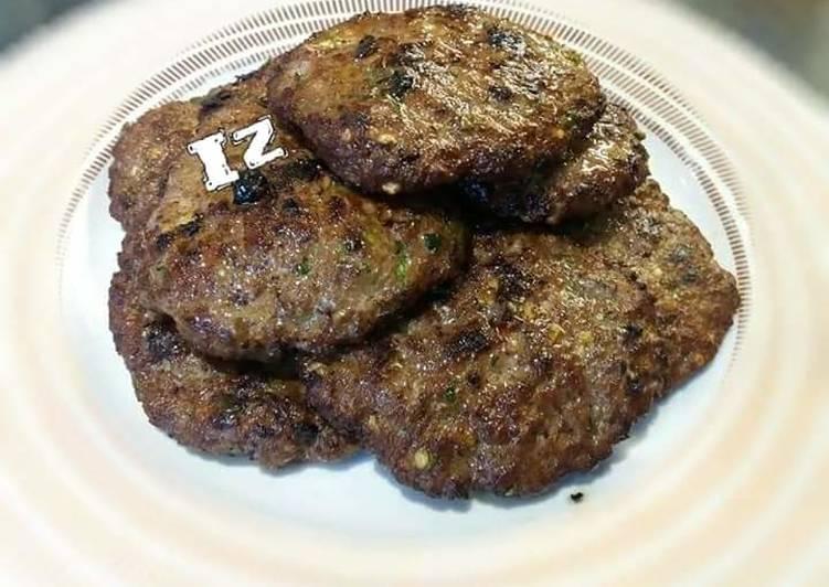 How to Make Quick 🍔Kache Keeme Ky Kebab🍔 (Raw mince kebab)