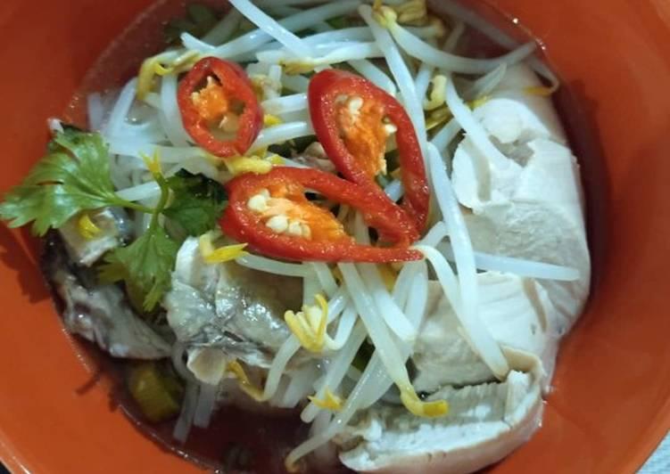 Cara Mudah Bikin Noodle Vietnam Chicken Pho Ga Enak Banget Resep Masakan Mantul