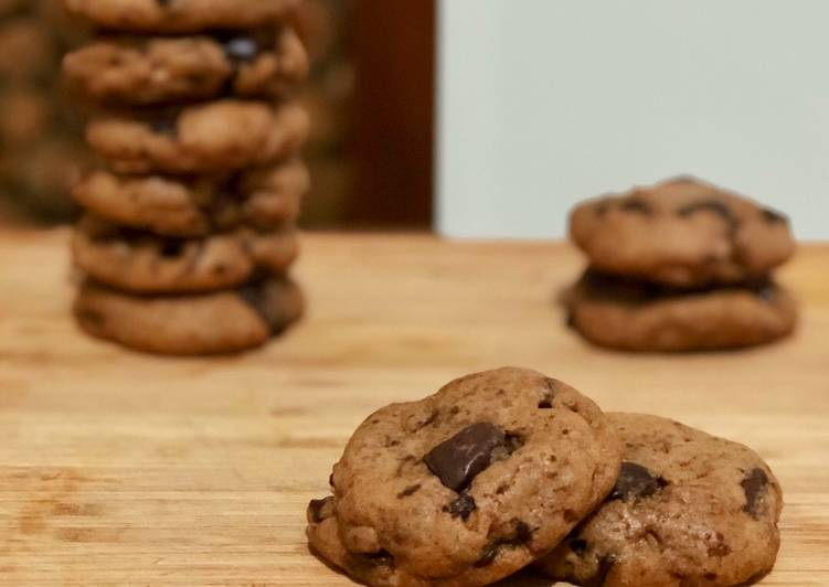 Resep Vegan Chocolate Chip Cookies oleh Feby Kusuma ...