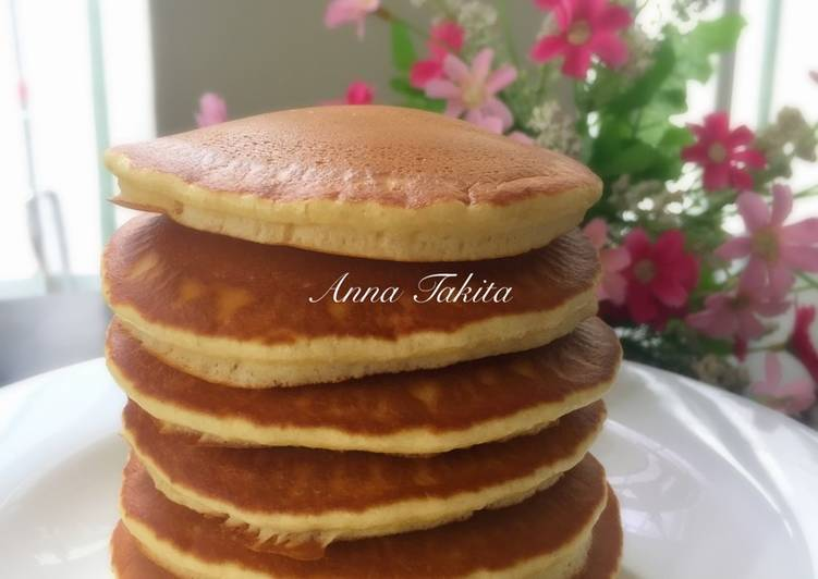 Resep Pancake Super Fluffy Terenak