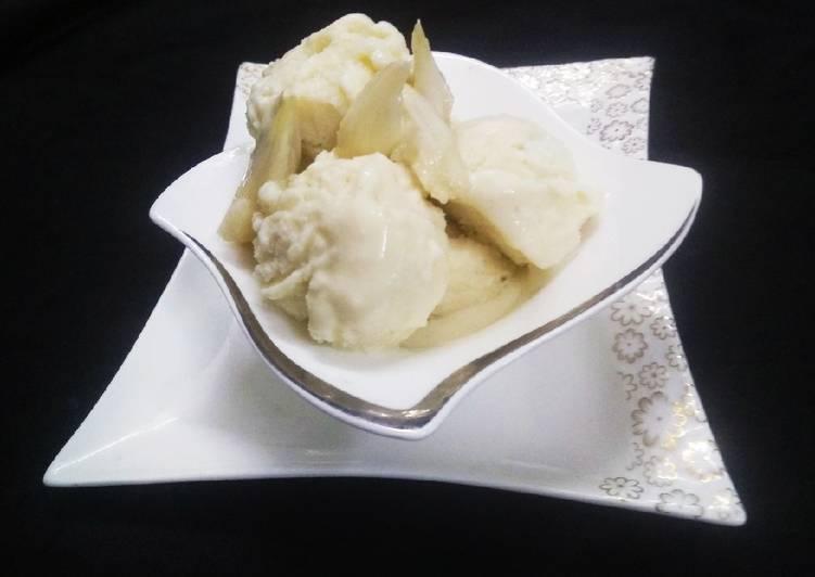Custard Apple Ice Cream