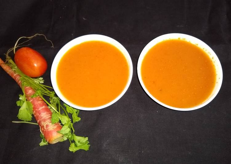 Easiest Way to Make Favorite Roasted carrot tomato soup