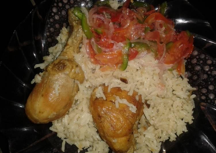 15 Minute Simple Way to Prepare Refreshing Chicken Pilau # Kenya Pilau Contest#