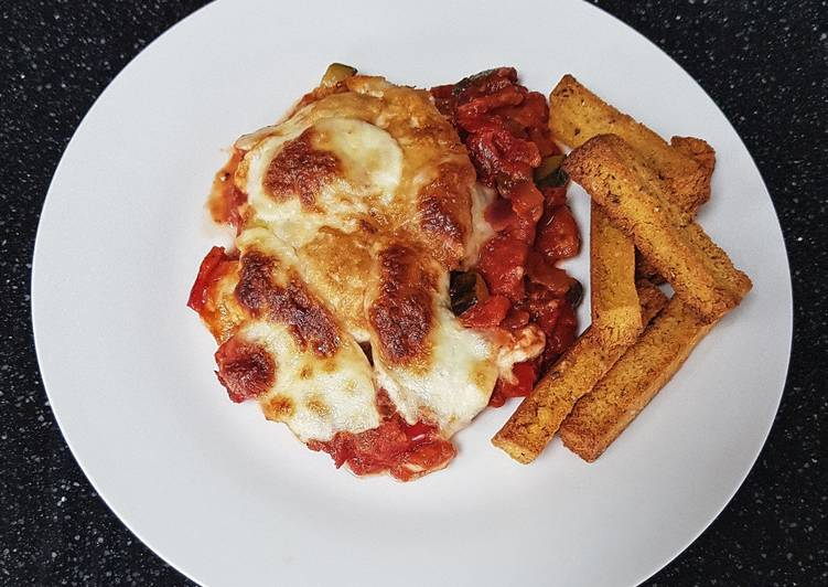 Easiest Way to Prepare Tasty Baked chicken parmigiana