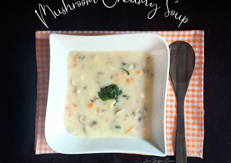 (49.Mushroom Creamy Soup
