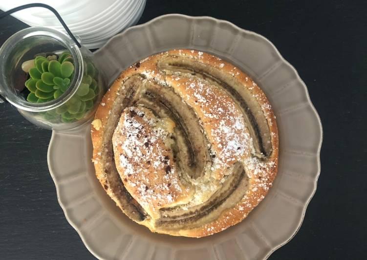 Recette Appétissante Gâteau moelleux à la banane
