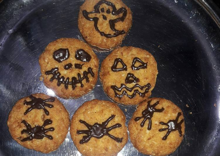 Going Green for Good Health By Dining Superfoods Halloween oats cookies