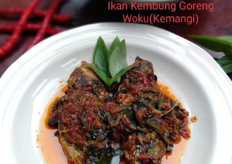 Ikan Kembung Goreng Woku(Kemangi)