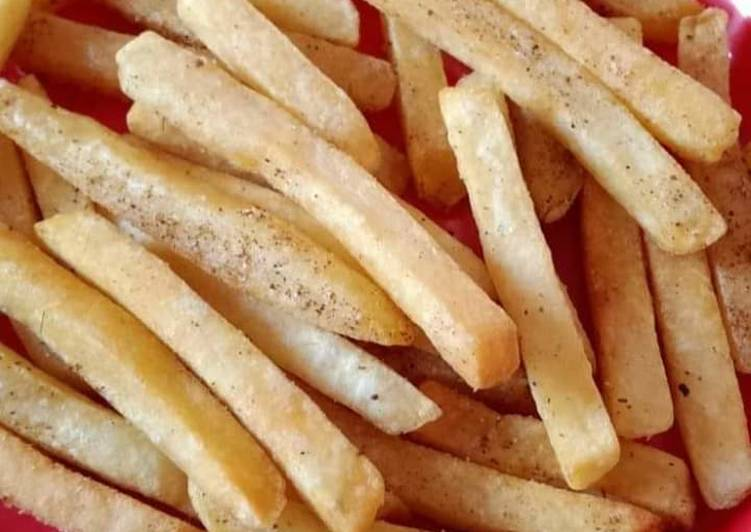 Easiest Way to Make Top-Rated French fries