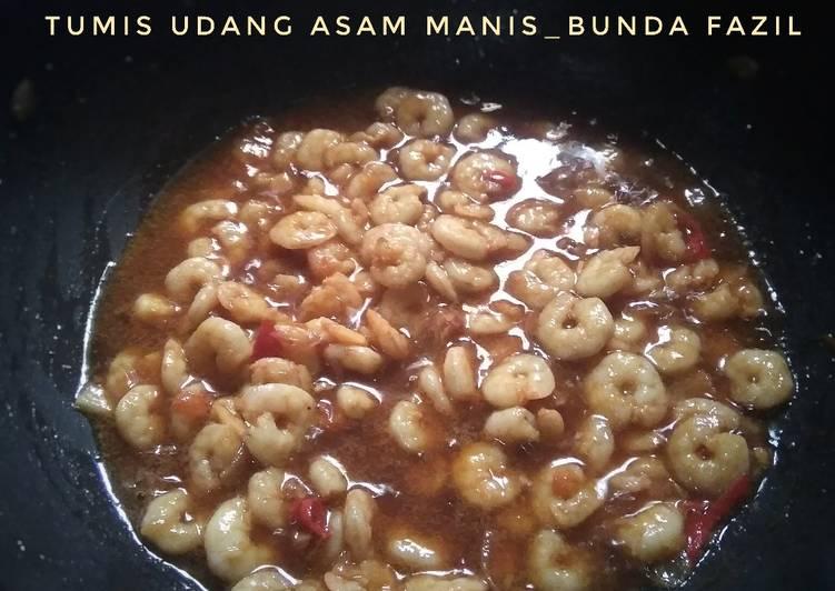Tumis Udang Asam Manis - cookandrecipe.com