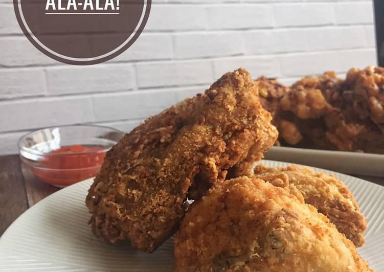 Ayam Kentucky Ala-Ala