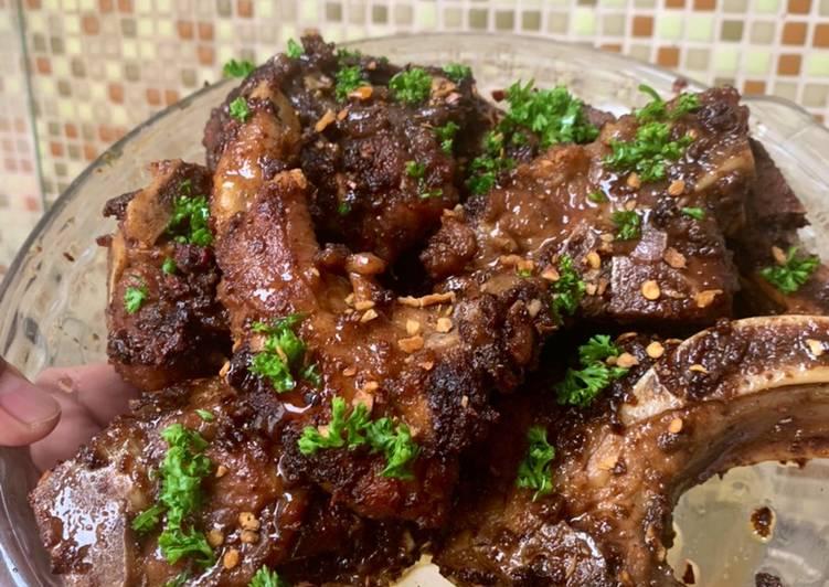 Recipe: Yummy Turf It! The Filipino Style Sweet & Spicy Cajun Ribs w/ Cajun Fried Rice