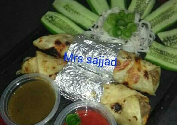 30 Minute Simple Way to Make Cooking Boti Roll Paratha # IftarSpecialWithHuma # CookpadRamadanKSath