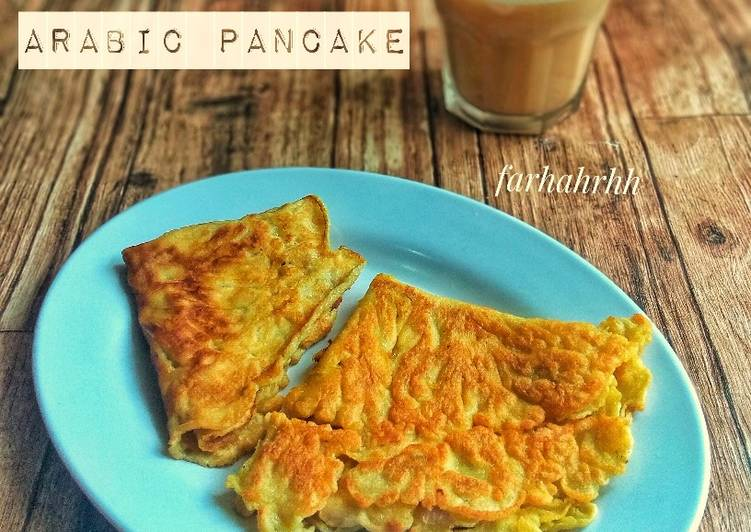 Arabic Pancake   versi Arab Oman (Qurus) 🇴🇲