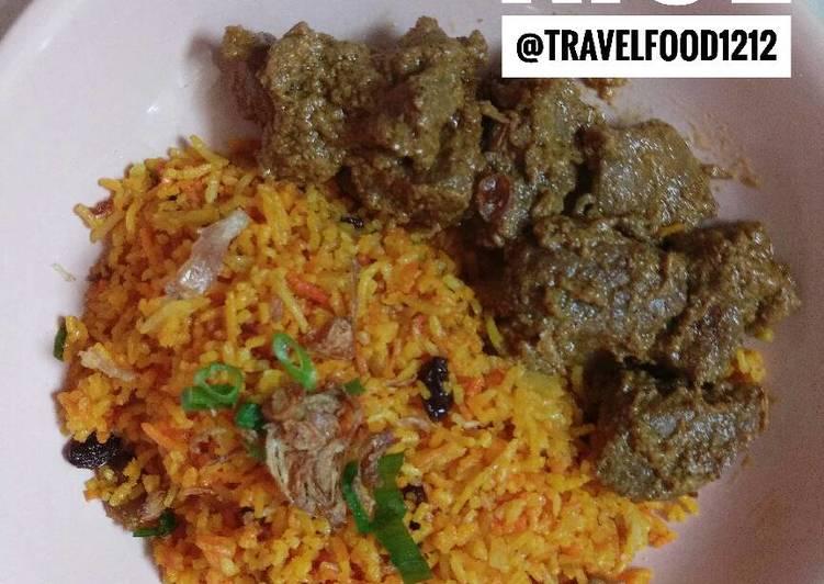 Nasi briyani / briyani rice