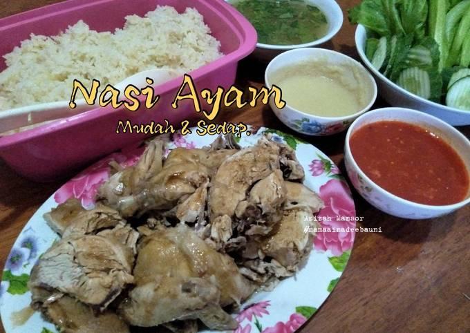 Resep Nasi ayam mudah dan sedap, Bisa Manjain Lidah