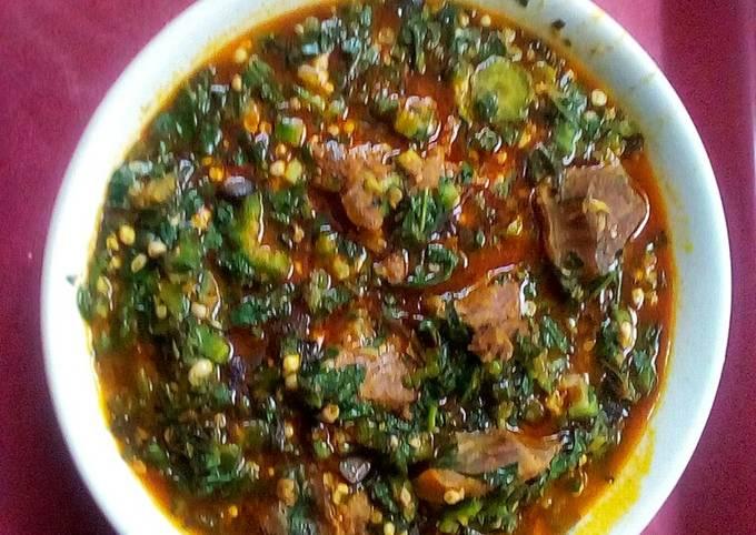 Anghara and Okro Soup ll