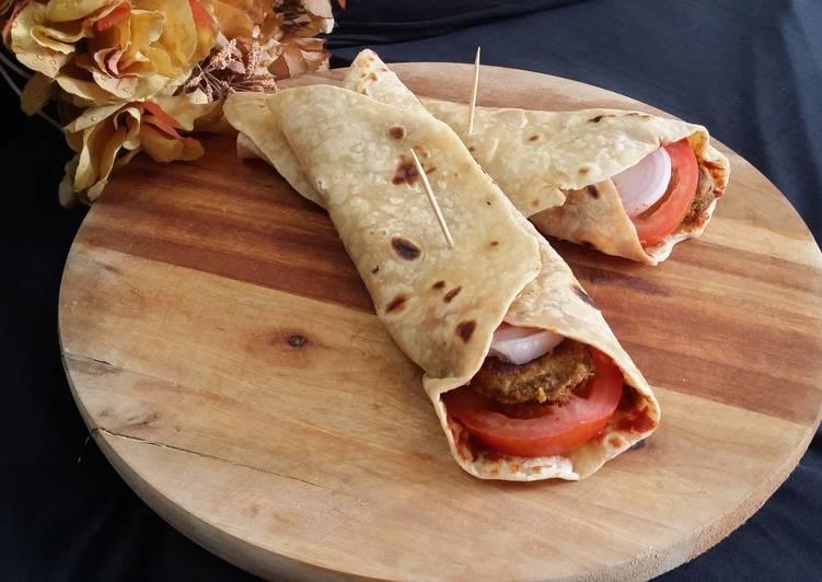 Steps to Make Ultimate Hyderabadi Shami Kabab Wraps