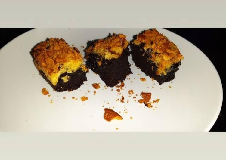 Fudgy Cookie Brownies