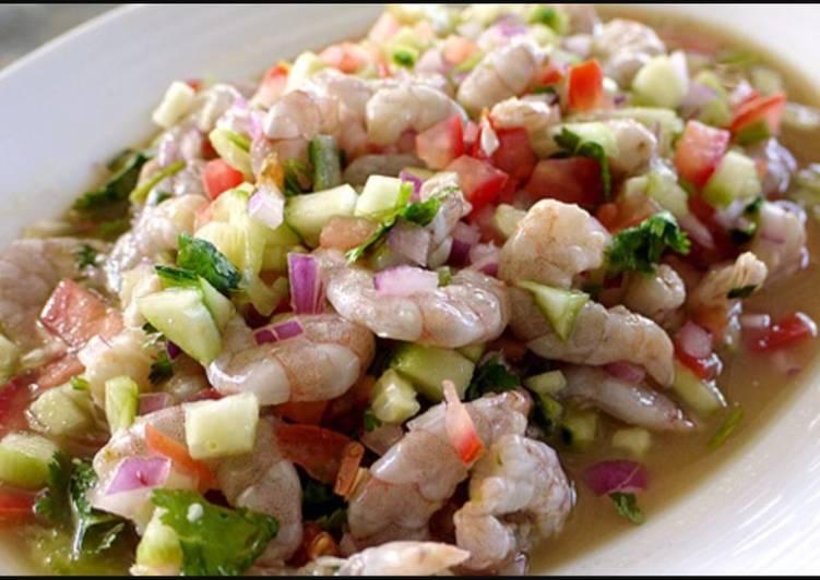 Suggestion to Cook Tasty Ceviche de pescado y camarón