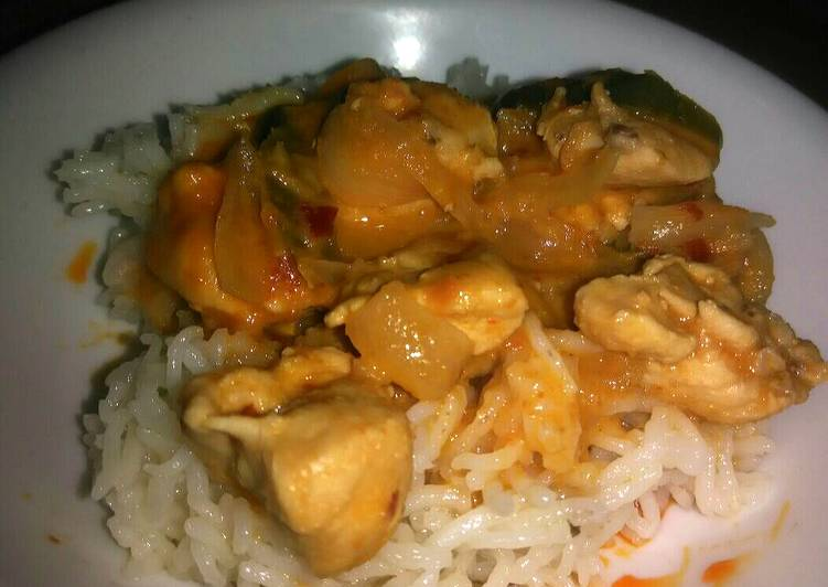 Thai Curry with Indian Ingredients Deciding on Healthy Fast Food