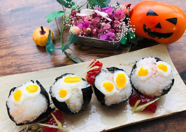 Recipe: Perfect Halloween Rice Ball