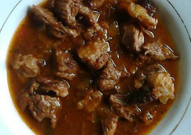 Recipe: Delicious Dried meat stew