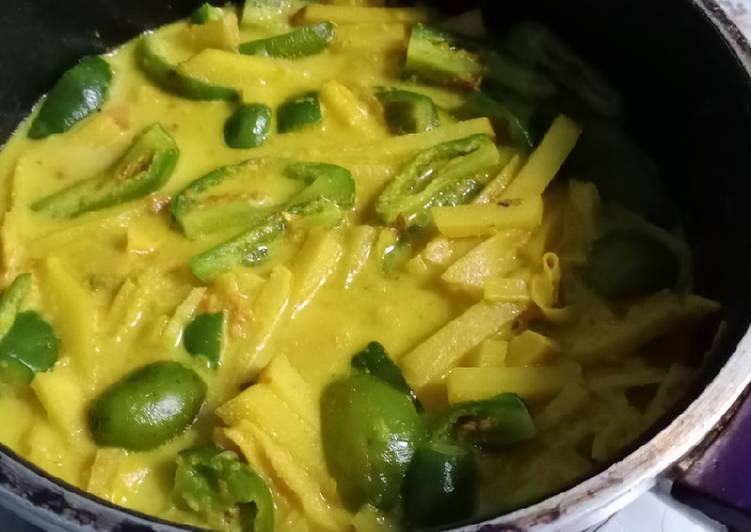 Sayur Rebung Pedas