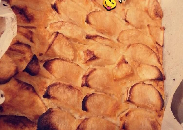 recette Tarte aux pommes sans pâte le délicieux