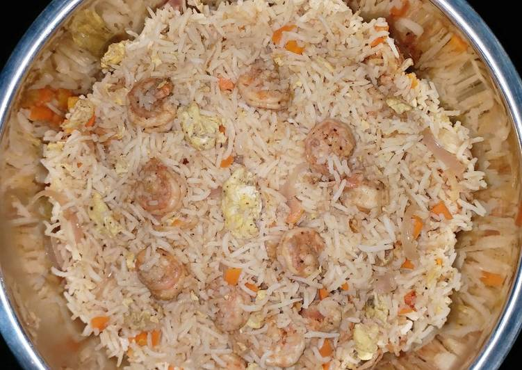 Easiest Way to Prepare Perfect Prawn fried rice