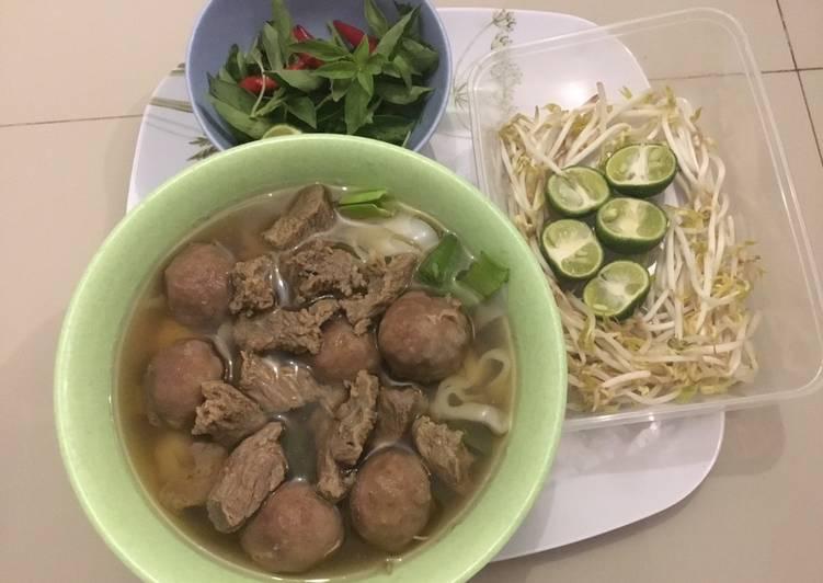 Resep Simple Vietnamese Pho With Meatballs Enak Resep Masakan Rumahan