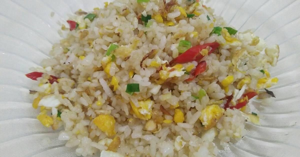 Resep Nasi Goreng Putih Pedas Oleh Cooking With D Cookpad