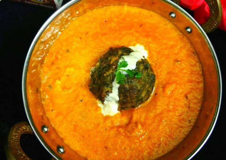 Spinach Cheese Kofta Curry