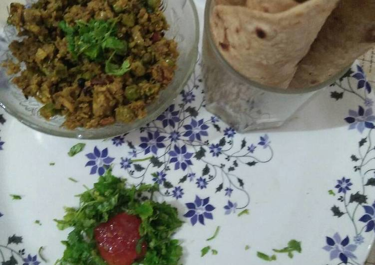Gobhi (cauliflower) keema