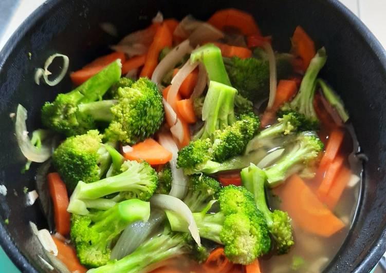 Ca brokoli wortel simple