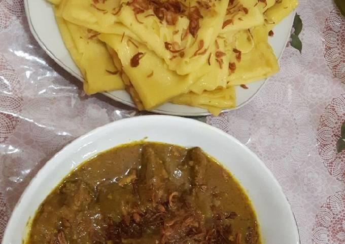 Roti Jala Kari Kambing