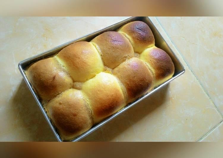 Resep Condense milk bread dengan toping mexican coffee bun Bikin Jadi Laper