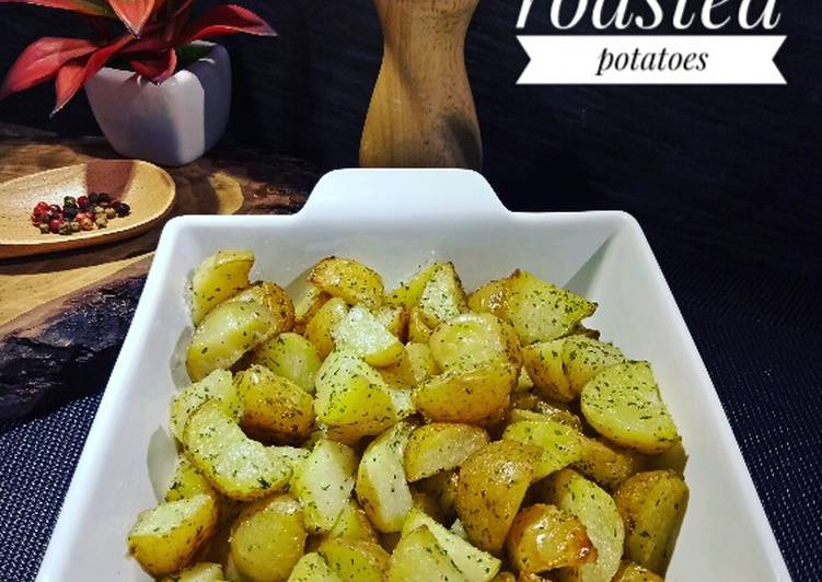Roasted potatoes    simply & delicious