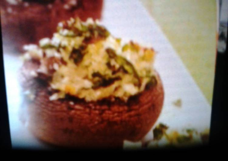 Spinach and goat cheese stuffed mushrooms, Coconut Oil Is A Great Product And Can Also Be Beneficial For Your Health