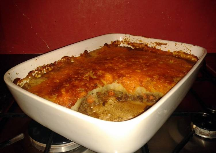 Recipe of Any-night-of-the-week Shepherds Pie with Garlic Mash