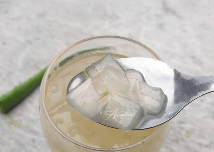 Es Lidah buaya/ aloe vera tidak pahit