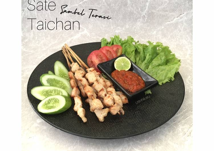 214. Sate Taichan dengan Sambel Terasi