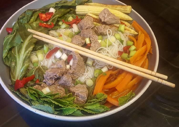 30 Minute Simple Way to Prepare Royal Healthy Pho Bo