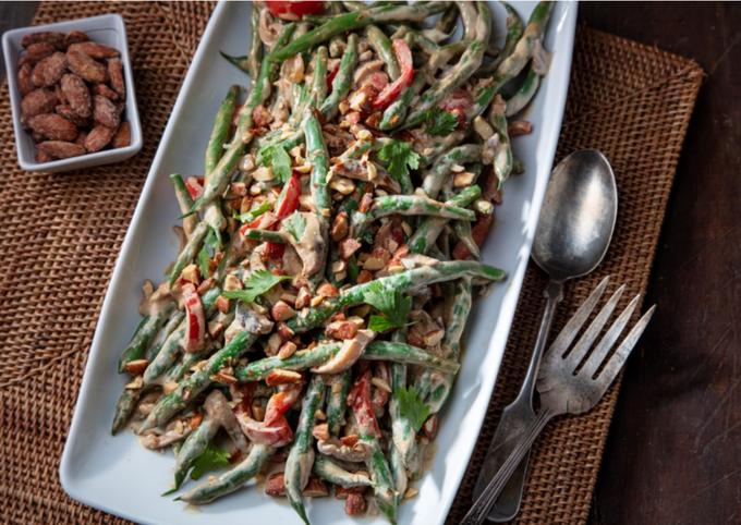 Creamy Asian Green Beans