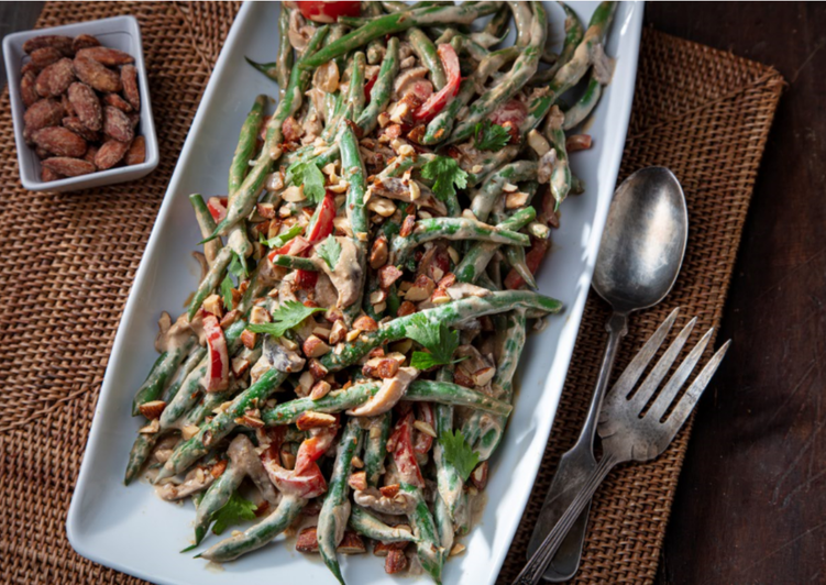25 Minute Recipe of Homemade Creamy Asian Green Beans