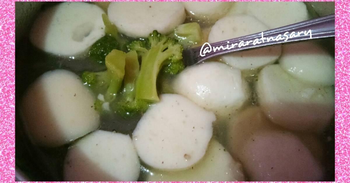 35 Resep Sup Baso Ikan Brokoli Enak Dan Sederhana Ala Rumahan Cookpad