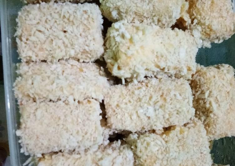 Resep Nugget Tempe + wortel Yang Mudah Pasti Nagih
