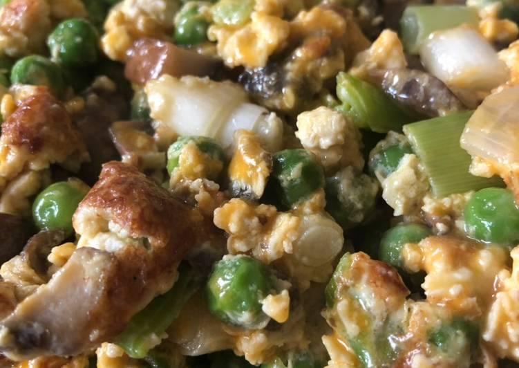 How to Prepare Any-night-of-the-week Cheesy, Peasy Mushroom Squishy!