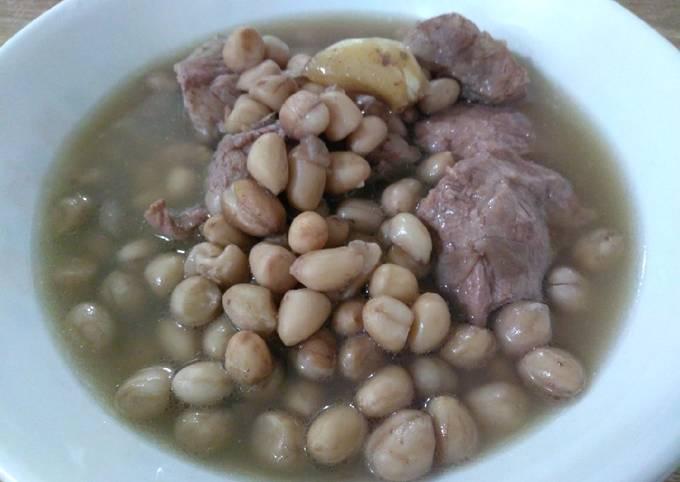 花生焖排骨 Braised Pork Rib with Peanuts