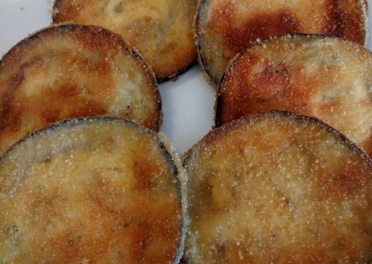 Easiest Way to Prepare Super Quick Homemade Crispy aubergine